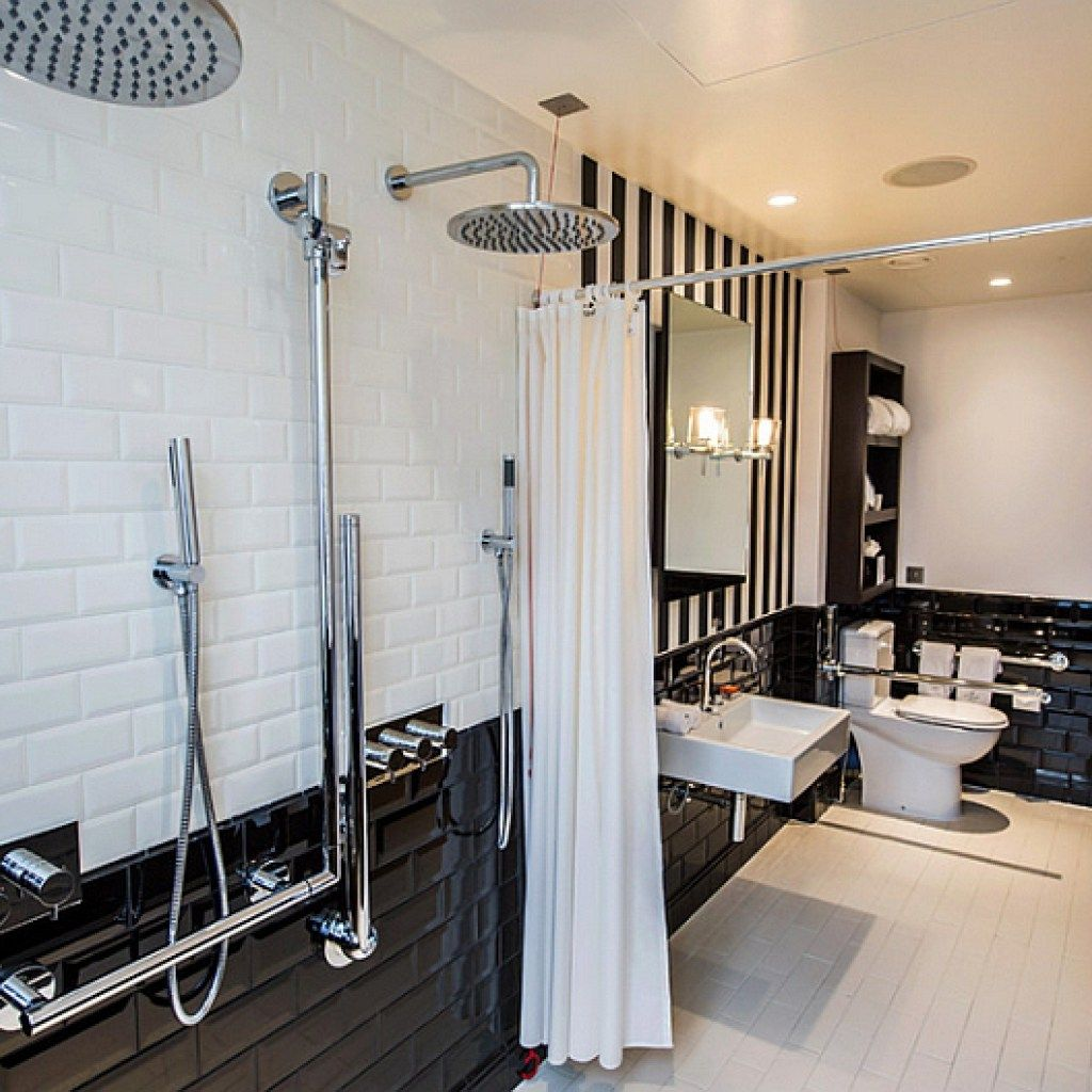 Black And White Bathrooms: An Elegant And Vintage Trend