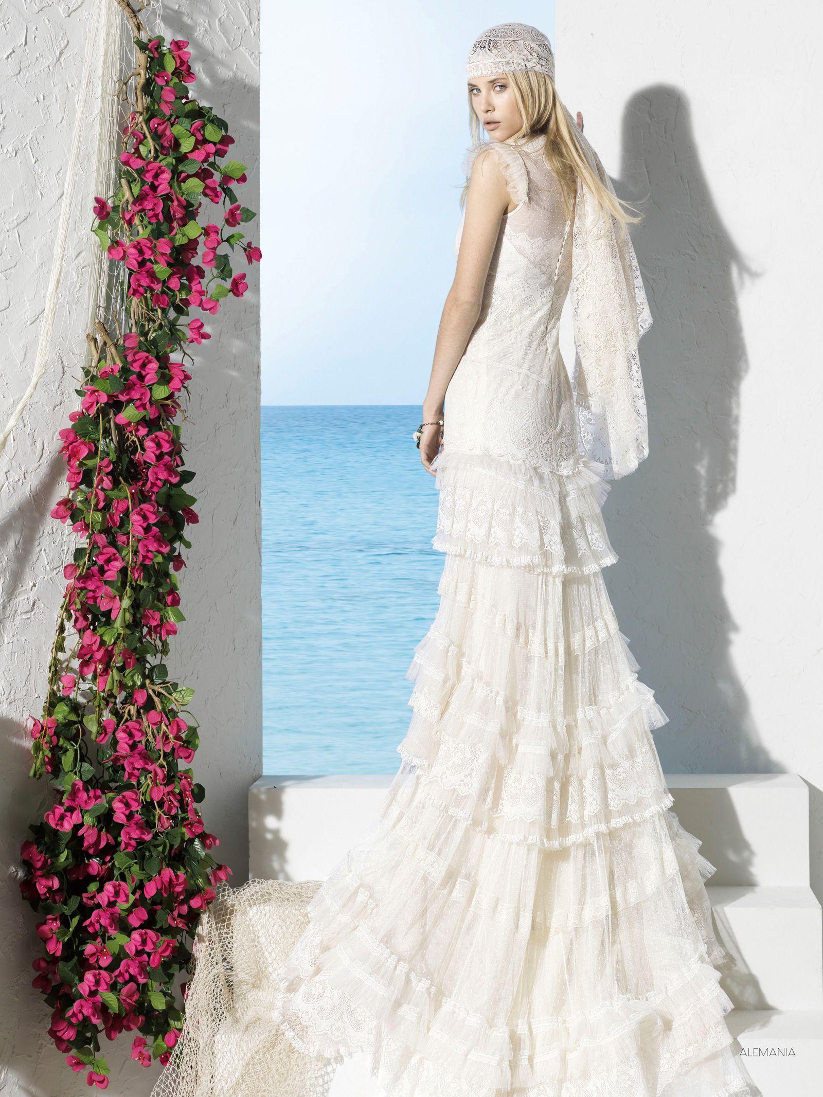 YolanCris | Vestidos de novia ibicencos BOHO GIRL de YolanCris. Ibiza! Novias 2013
