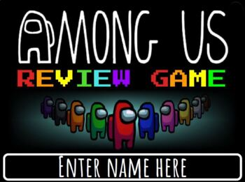 Among Us Review Game Editable To Fit Your Needs Review Games Teaching This Or That Questions