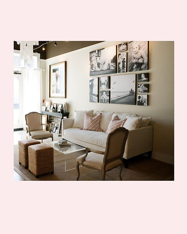 Narrow Living Room Arrangements: Narrow Living Room Seating Arrangement: Couch, Side Chairs