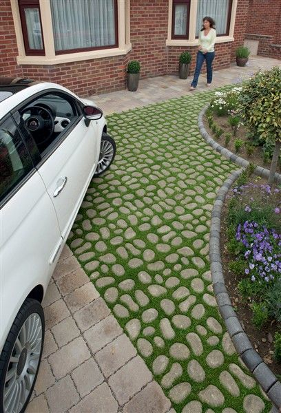 Bioverse Paving System From Marshalls Is The Environmentally Friendly Driveway Option