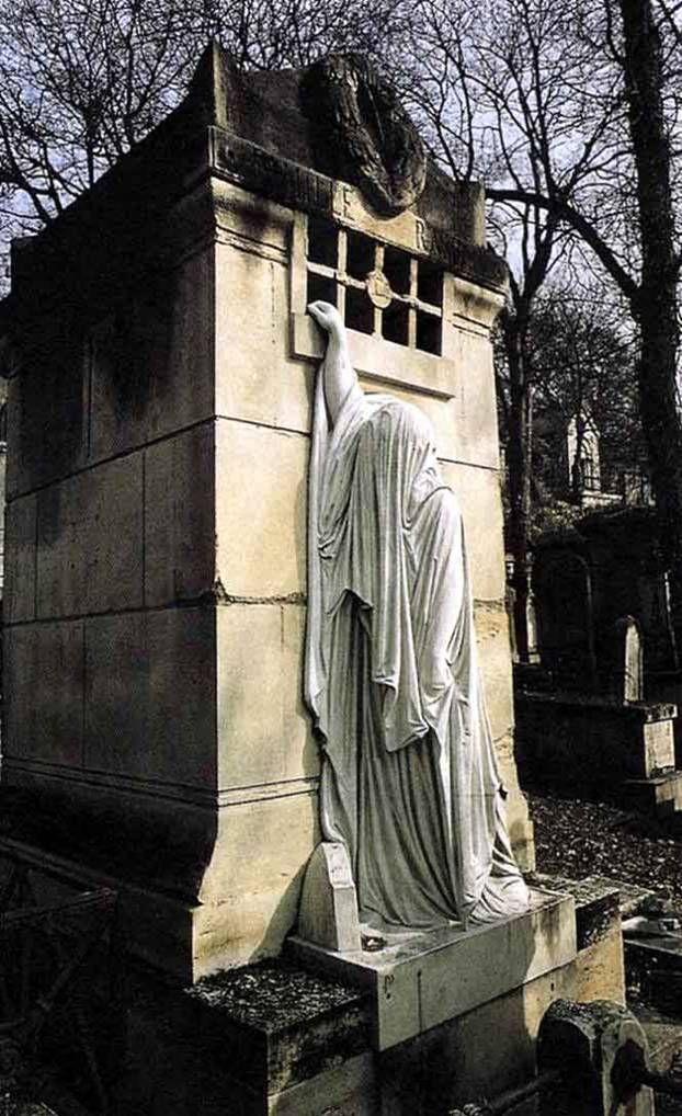 Charles Fonseca: Antoine Etex, 1854 - túmulo da família Raspail - P...