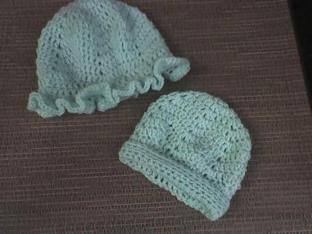 Hexie+Hats.jpg] | knit | Pinterest | Manualidades, Patrón libre y Bebé