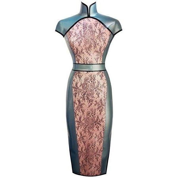 79acff29b3d Couture Latex Joy Dress