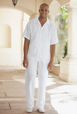 97af62fb7f White line for men | Wedding in 2019 | White linen suit, Linen pants ...