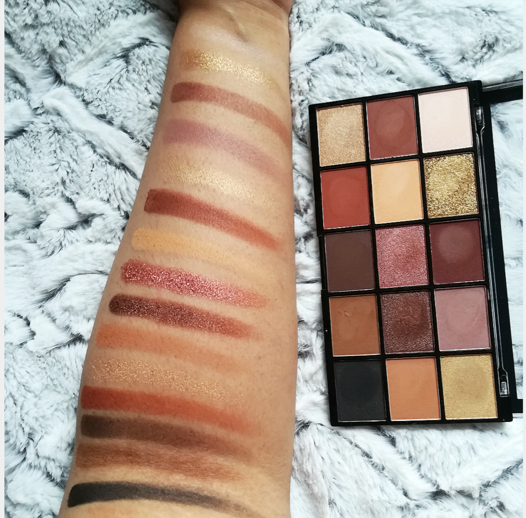 Makeup Revolution reloaded Velvet Rose palette/Soft Glam