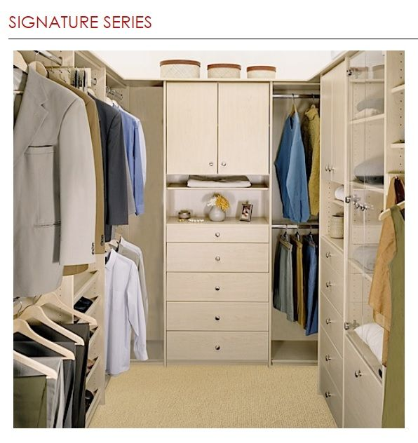 Signature Series Closet World