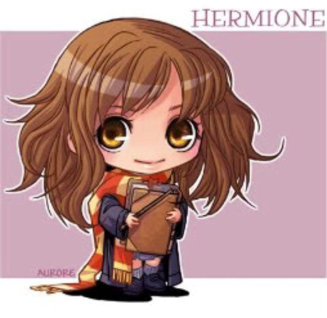 Chibi Hermione Art Harry Potter Animaux Harry Potter Hermione