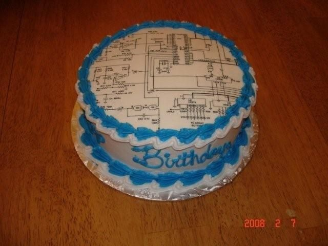Electrical Engineering Cake