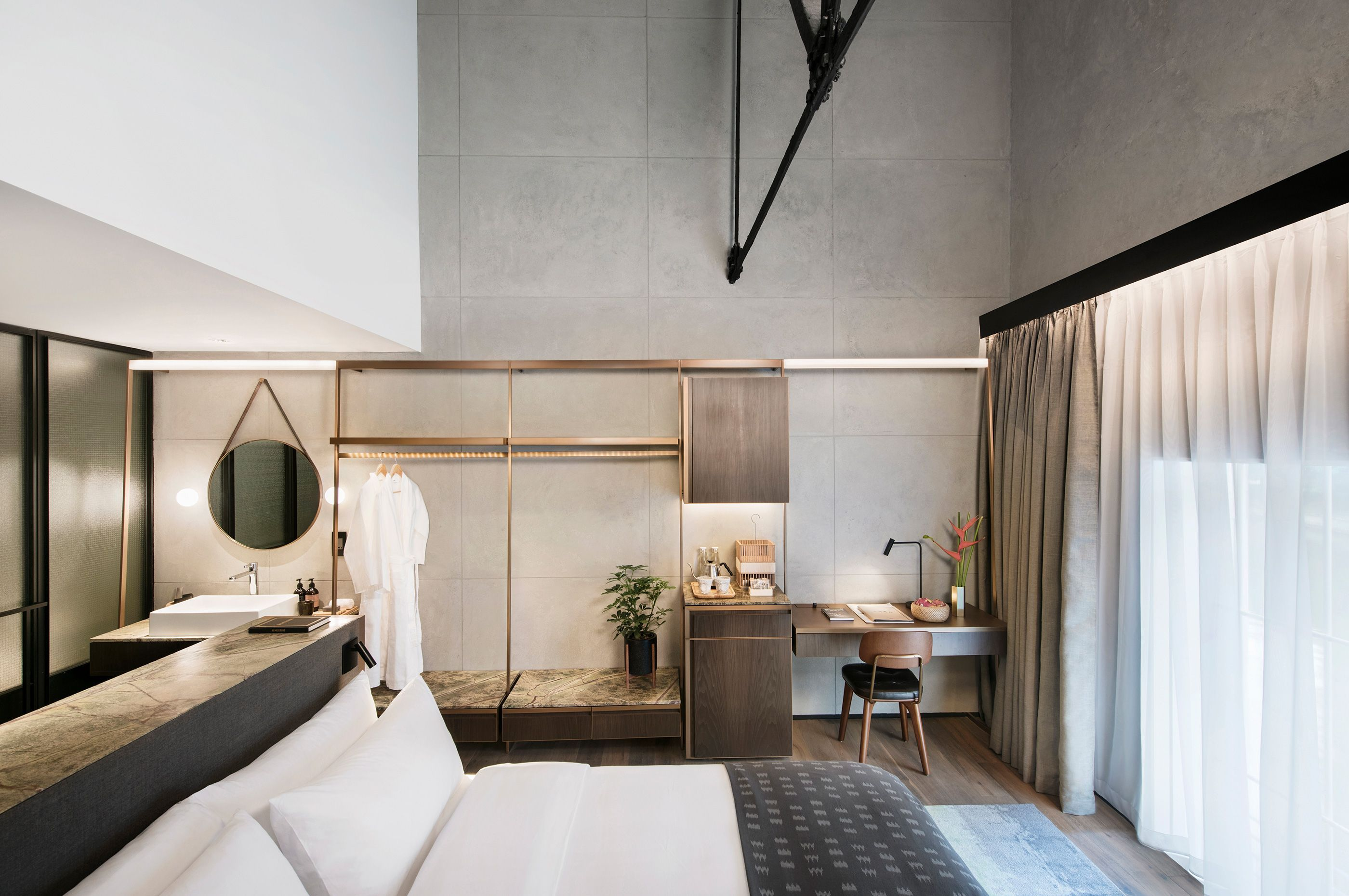 The Warehouse Hotel Hotel in Singapore Interior bedroom Gallery