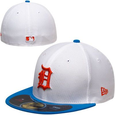 detailed look 07c76 e4fce ... france new era detroit tigers diamond era pop 59fifty fitted hat white  royal blue d4edb 8d5c3