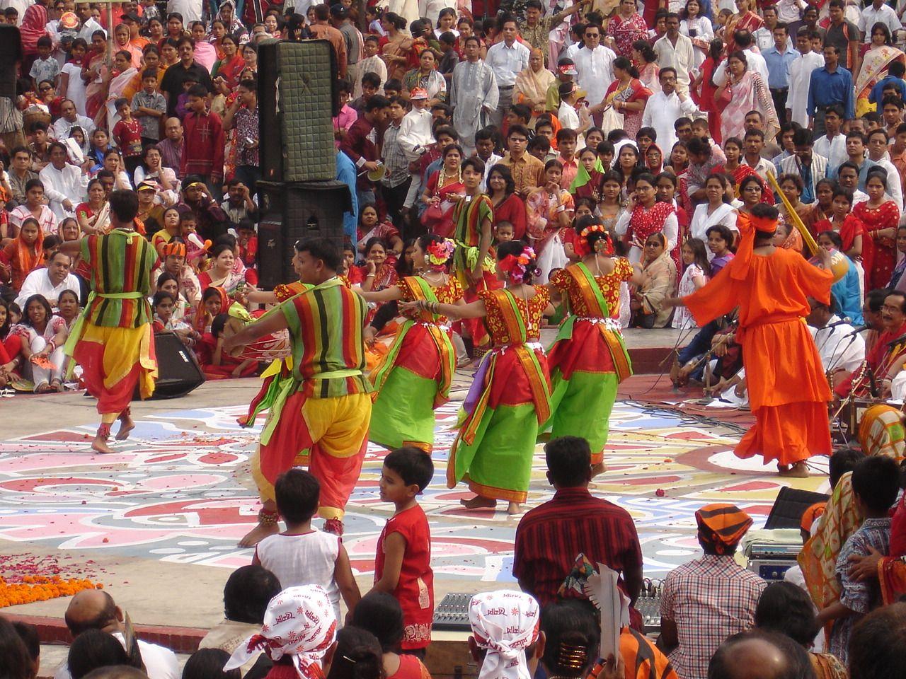 Bangladesh Bengali New Year Dhaka Bangladesh Celebrities