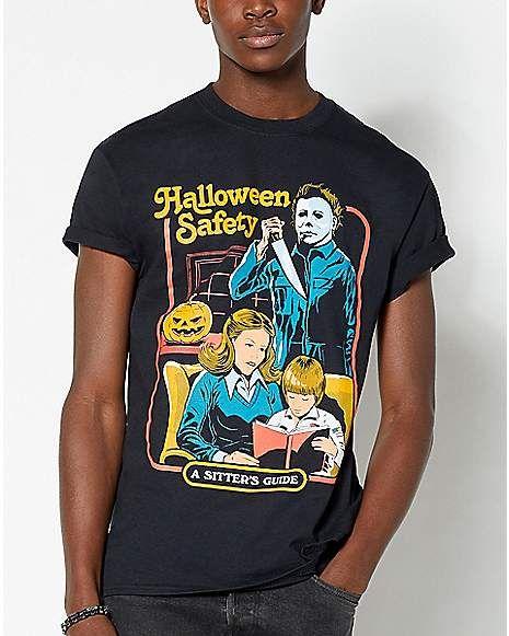 Halloween Safety T Shirt Steven Rhodes in 2020 T shirt