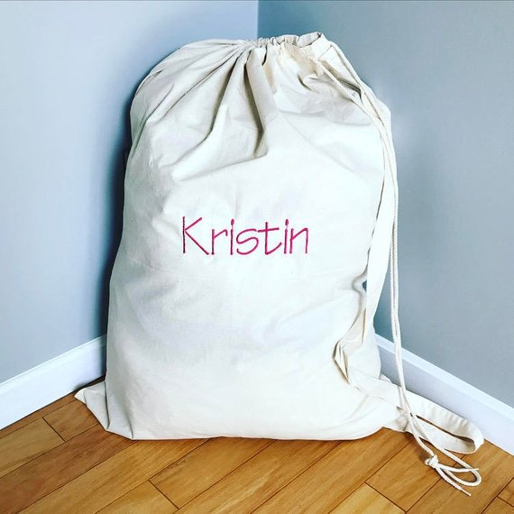 Personalized Laundry Bag Monogrammed Laundry Bag Personalized