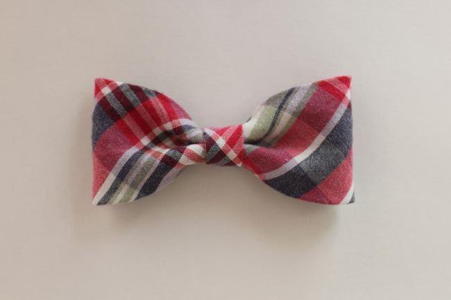 DIY Fabric Bow Tutorial #fabricbowtutorial