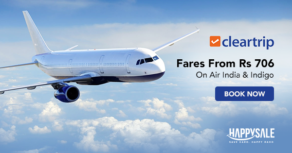 Air India & Indigo Flight Sale Fly high at the prices