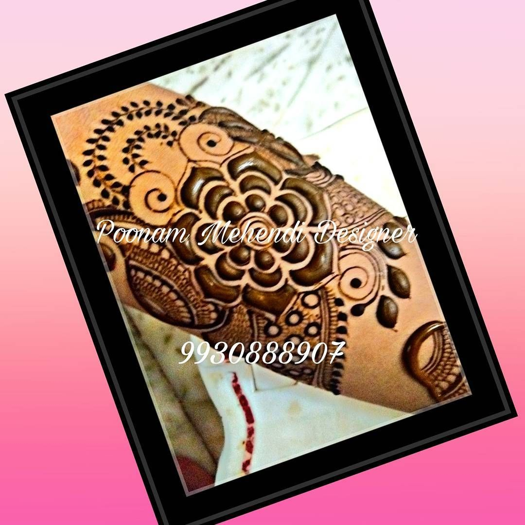 Fancy Floral Design Mystudentwork Proud To Have Gud Students God Bless U All For Classes Inquiry 9 Hand Henna Mehendi Henna Hand Tattoo