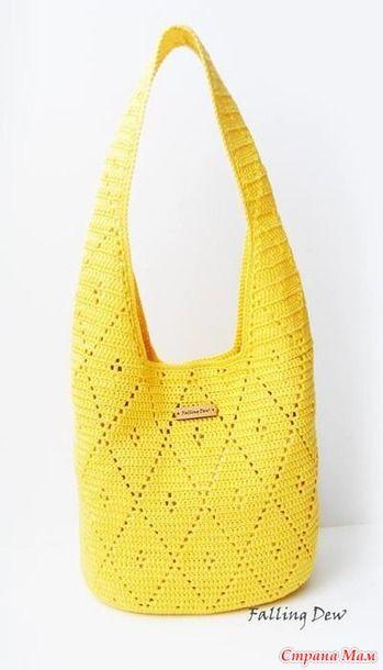 bdbbdfee0d53 Сумка крючком | knitting | Вязаные сумки, Вязание крючком, Сумки