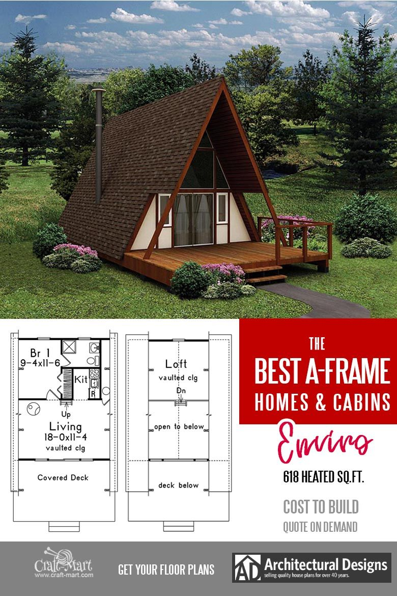 Cool A Frame Tiny House Plans Plus Tiny Cabins And Sheds Craft Mart A Frame House Small House Plans Tiny House Plans