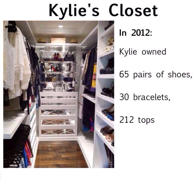 Kylie Jenners Closet