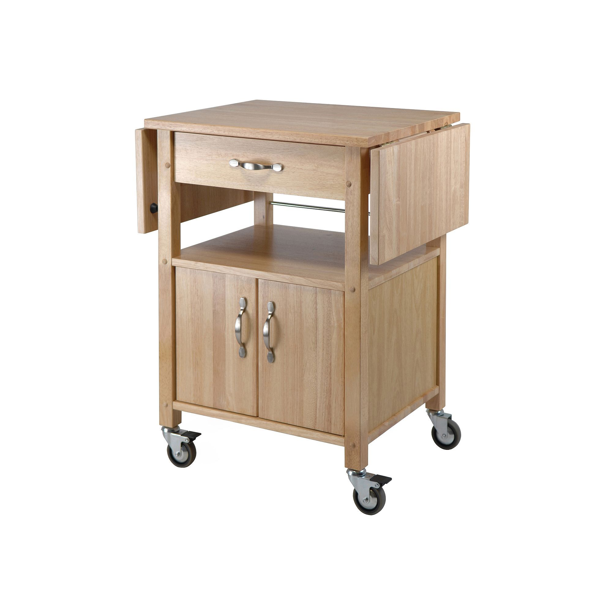 Winsome Dropleaf Kitchen Cart  Kitchen Carts Leaves And Drop Brilliant Kitchen Cart With Drop Leaf Inspiration