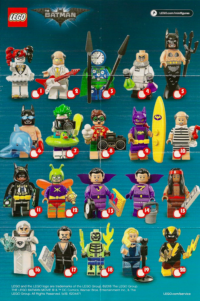 Lego Series Batman Series 2 Minifigures 71020 YOU CHOOSE
