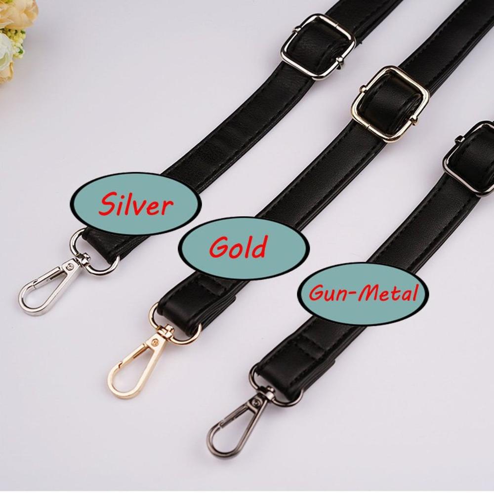 Leather Purse DIY Aluminum Adjustable Chain,metal Cross Body Strap Golden Clasp Clutch Bag Chain,Handle Handbag shoulder Replacement Chain