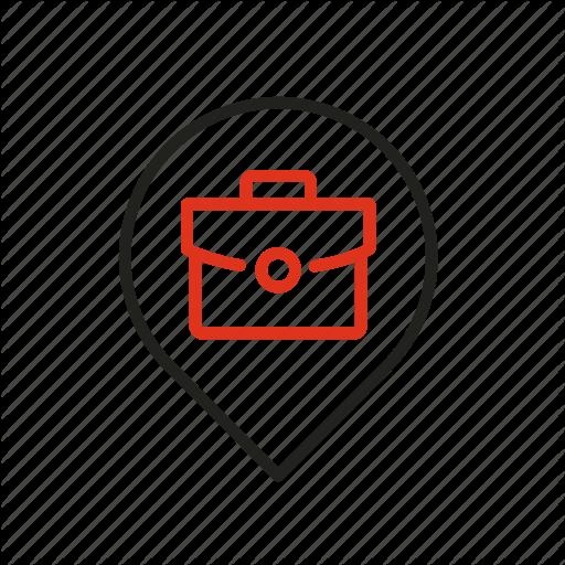 Distance Job Location Position Remote Work Icon Download On Iconfinder Work Icon Icon Positivity