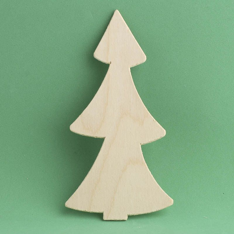 Unfinished Wood Tree Cutout Shape All Wood Cutouts Wood Crafts Craft Supplies Wood Cutouts Wood Tree Wood Craft Supplies
