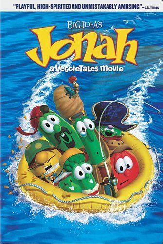 Jonah A Veggie Tales Movie Dvd Full Screen Edition -1273
