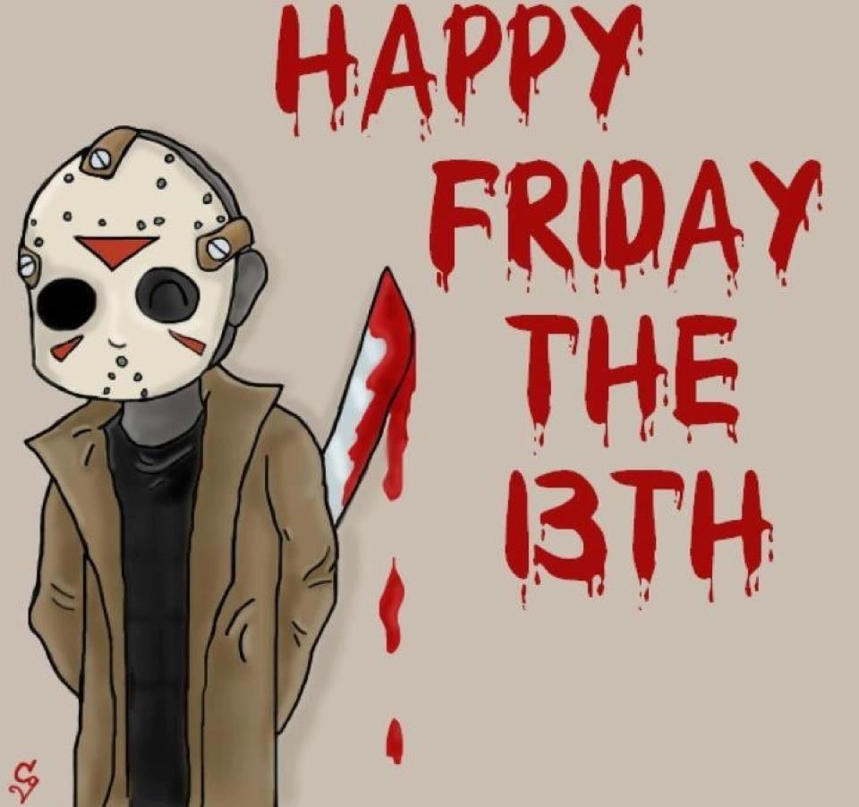 Friday the 13th pictures happy