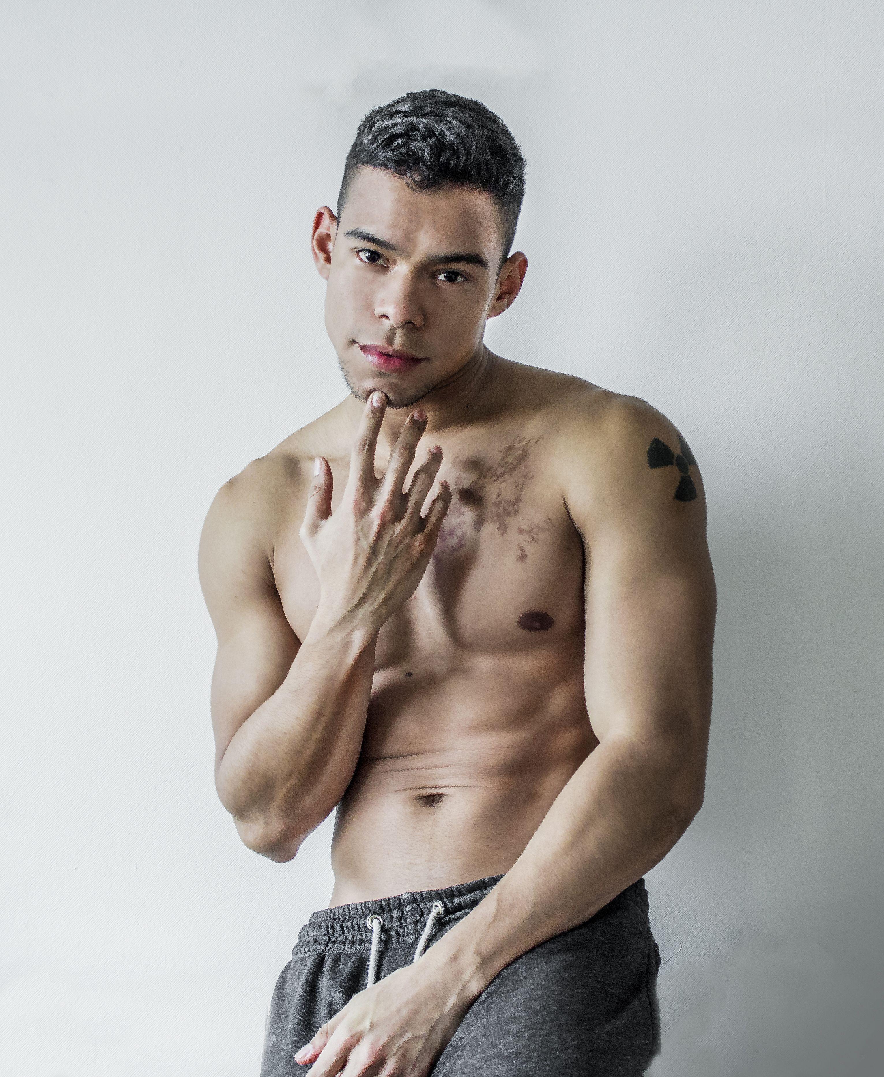 #Body #gym #fitness #fit #Latin #boy #model #TAttoo