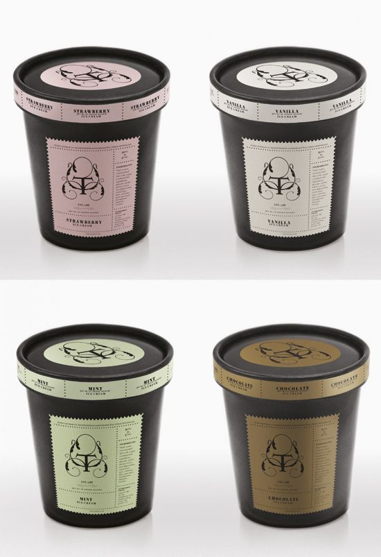 packaging para helados - Buscar con Google