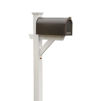 Buyers Choice Phat Tommy 5 Ft. H In-Ground Decorative Post Finish: White
