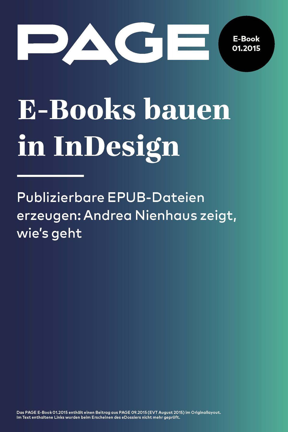 E Books Bauen In InDesign – So Geht S