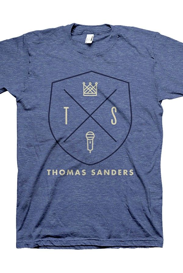 Thomas Sanders Crest Shield Merch