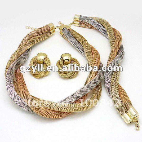 italiangoldjewelrysetsjpg 600600 jewellary designs Pinterest