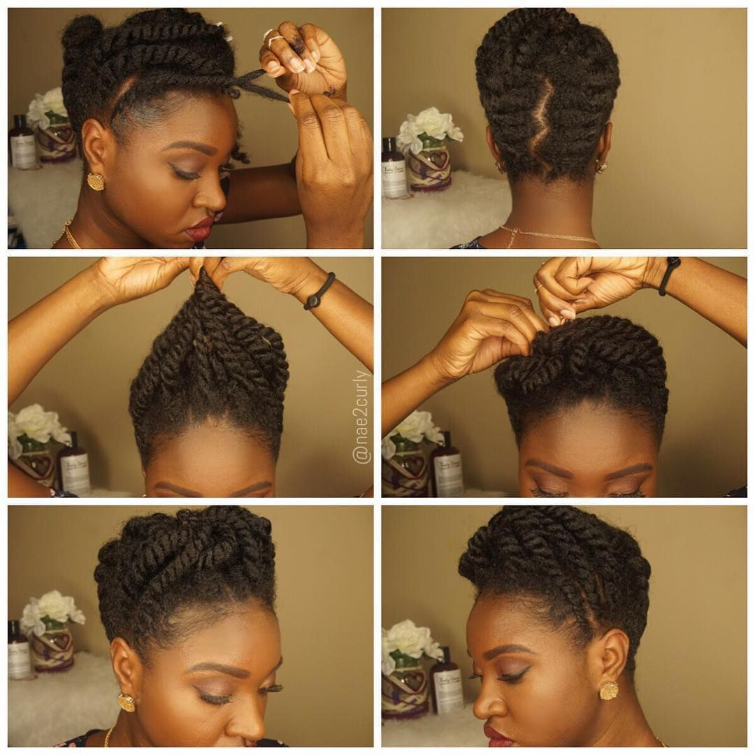 """""""By @nae2curly Protective styling at its best #Nae2Curly ..."""