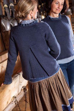 Neu Gemacht Jacke Trachtenjacke Stricken Pullover