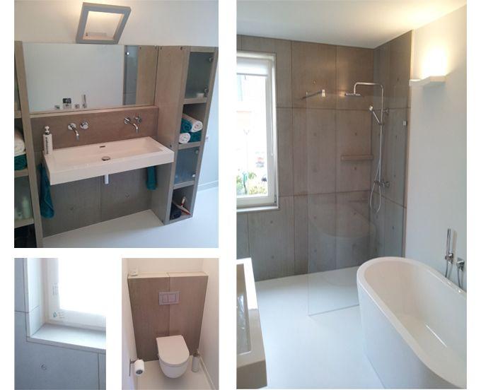 Badkamer Beton Interieur : Beton design interieur badkamer betonnen badkamer