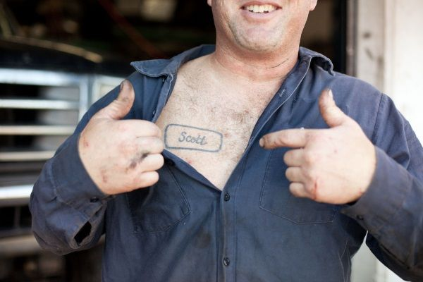 Auto Mechanic Mechanic Tattoo Designs