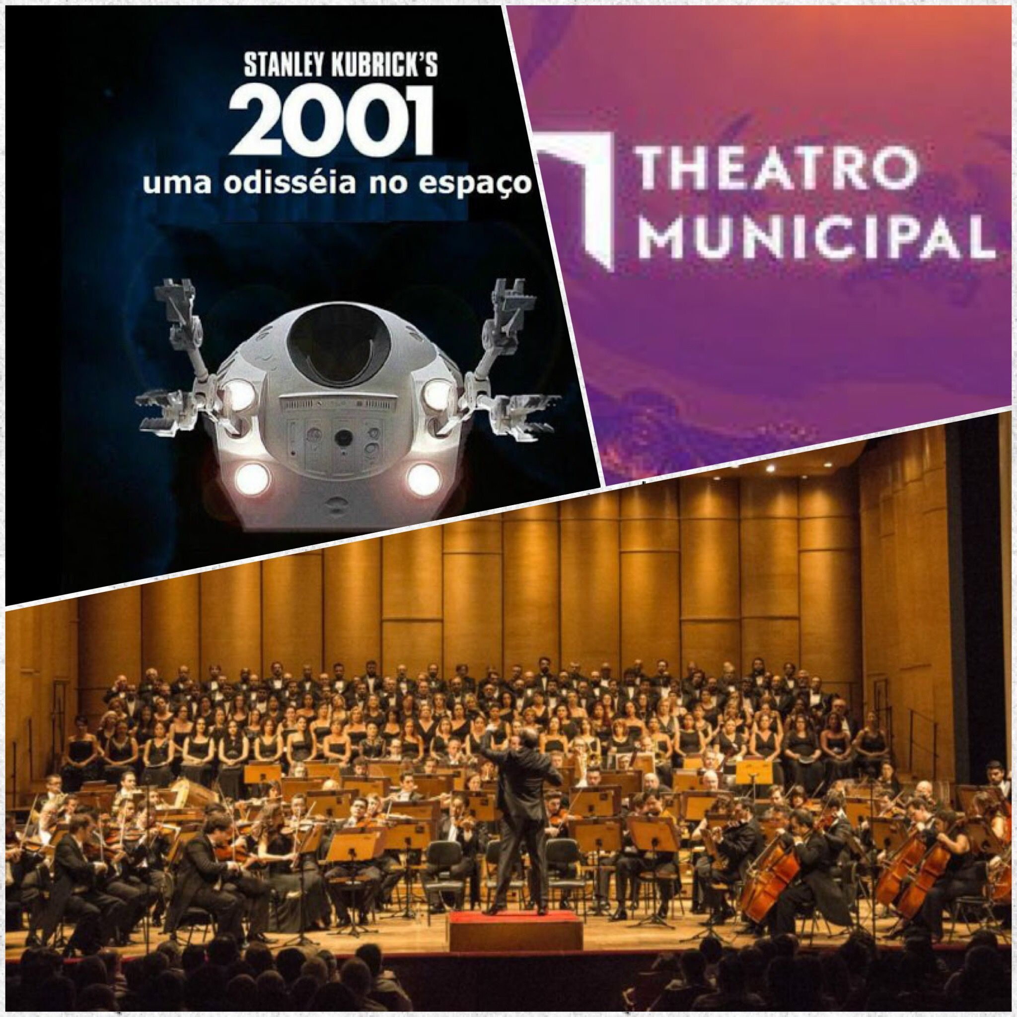 """Orquestra Sinfonica Municipal  - """"2001 Uma Odisseia no Espaço"""" - Teatro Municipal de Sao Paulo - 08.07.2017"""