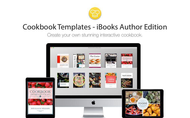 Cookbook Templates IBooks Author Edition By Deeda Designs