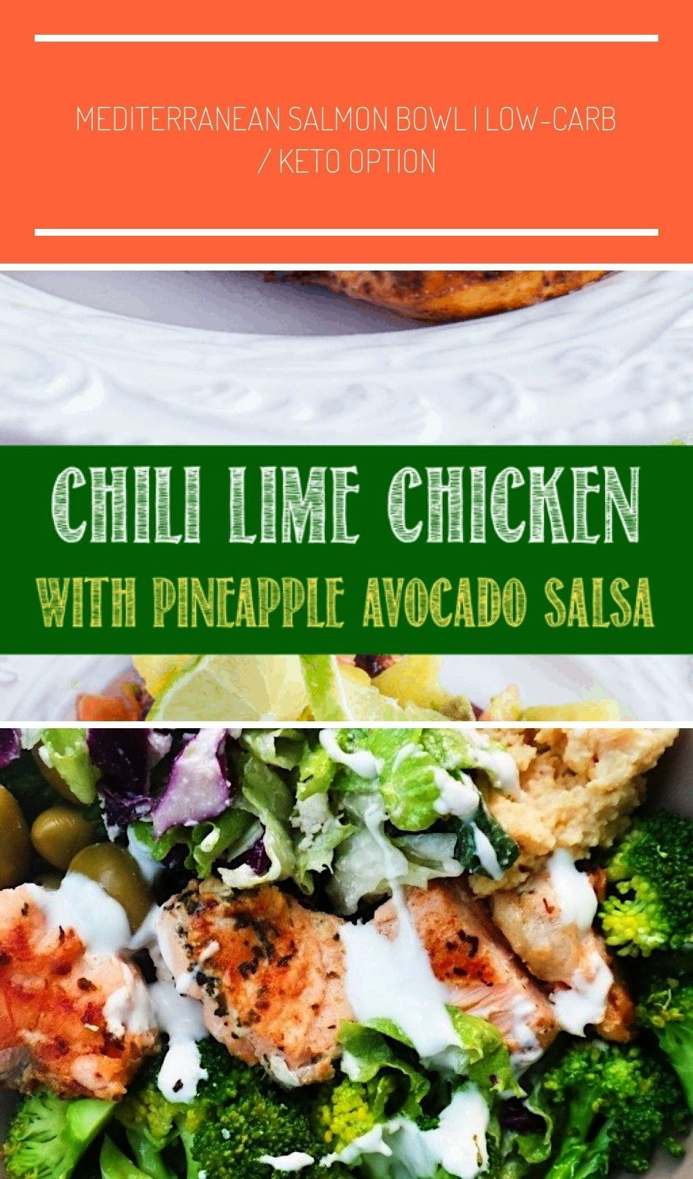 Lime Chicken with Pineapple Avocado Salsa is a quick, easy, and healthy dinner recipe thats sure t
