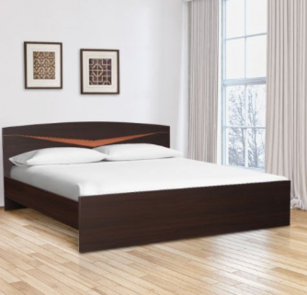 Get Flat 54 Off On Viking Engineered Wood Queen Size Bed On Hometown In 2020 Double Bed Designs Bed Design Bed Furniture Design