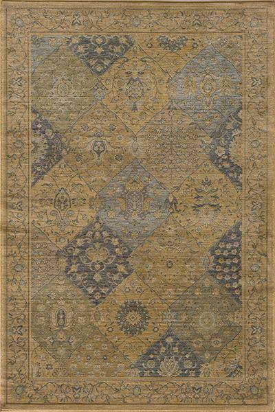 BELMONT, Lt. Blue - Blue, Momeni, Machine Made, Traditional Rugs & Oriental Rugs   Oriental Designer Rugs