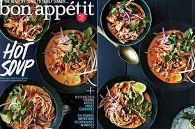 There's a Newf in My Soup!: Bon Appetit Cook the Cover: Chicken Khao Soi