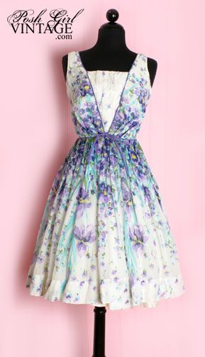1000  images about Vintage Clothing on Pinterest  Day dresses ...