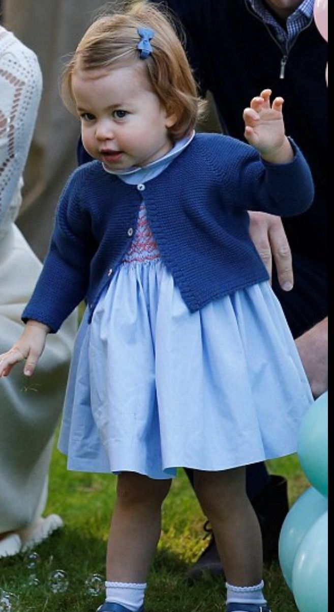 Princess Charlotte in Canada - Oct. 2016