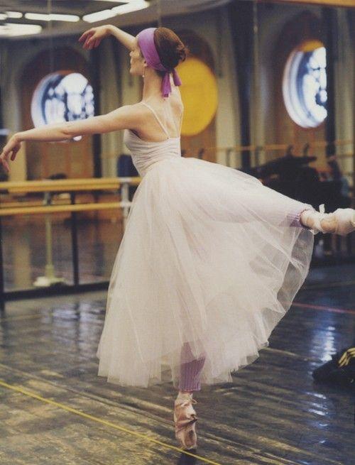 Aurelie Dupont in rehearsal